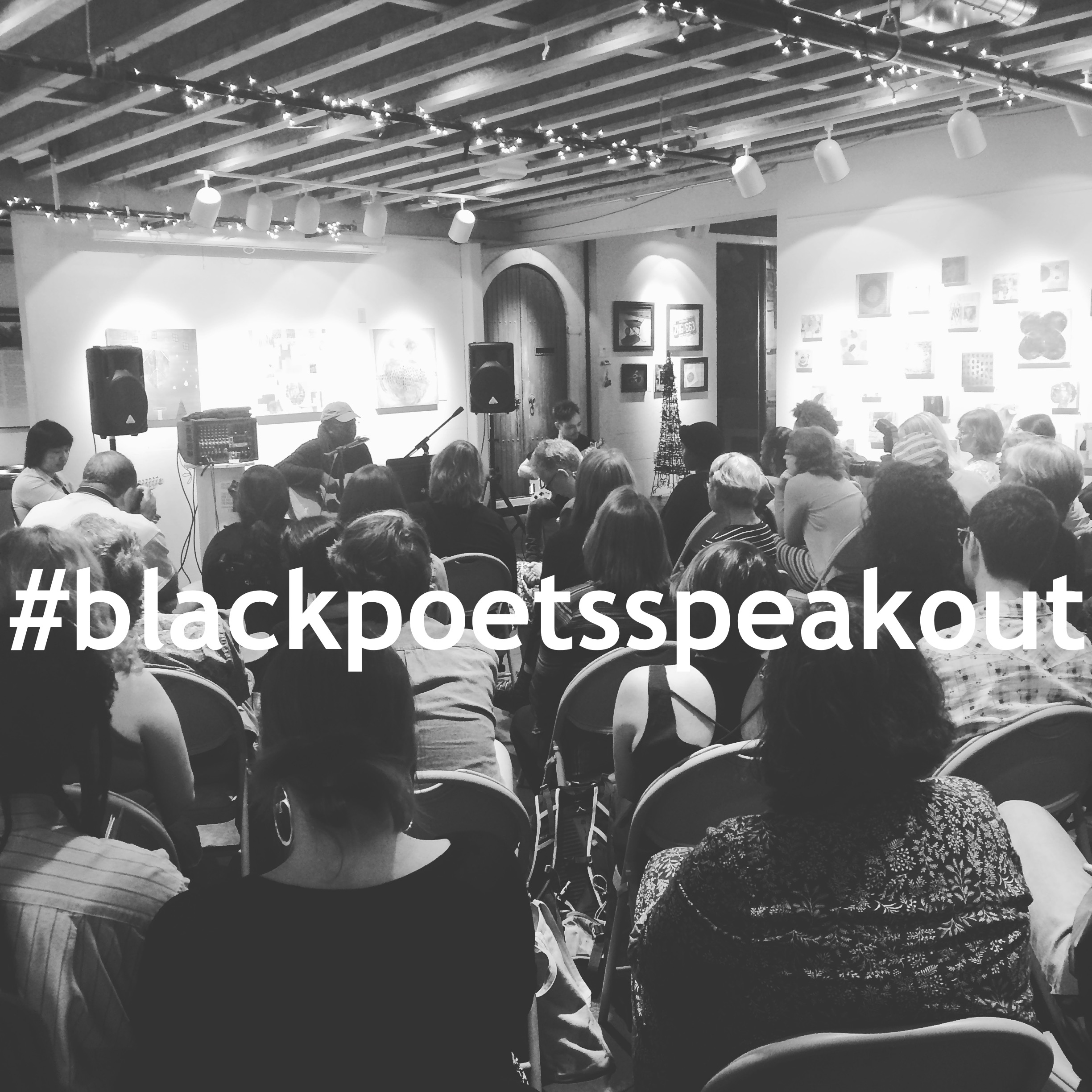 The FEMININE PRONOUN Series #14: #blackpoetsspeakout