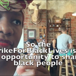 how does one strikeforblacklives thumb