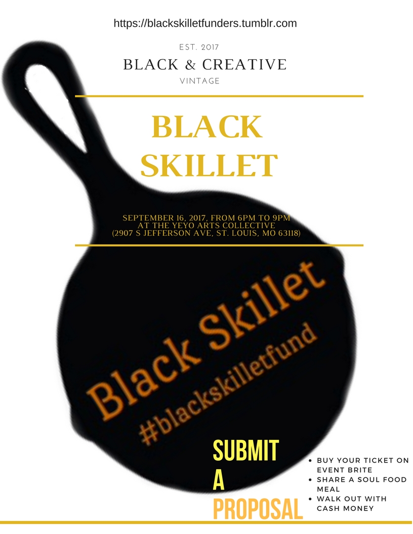 The Black Skillet or How To Fund The Arts With Soul Food